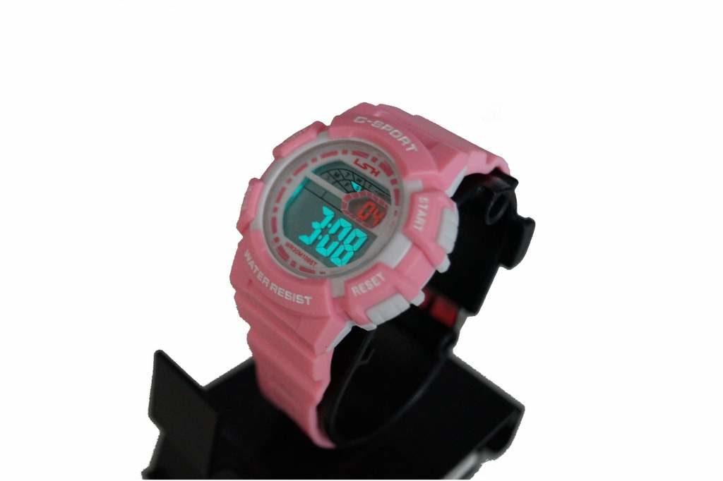 zegarek dziecięcy elektroniczny C-Sport