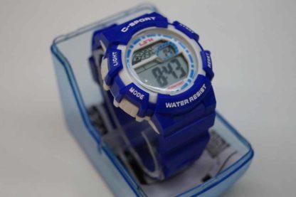 niebieski zegarek dziecięcy
