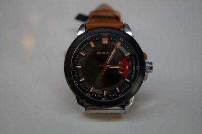 Zegarek męski Curren 8284 z datownikiem skórzany pasek
