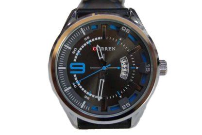 Zegarek męski Curren 8295 z datownikiem skórzany pasek