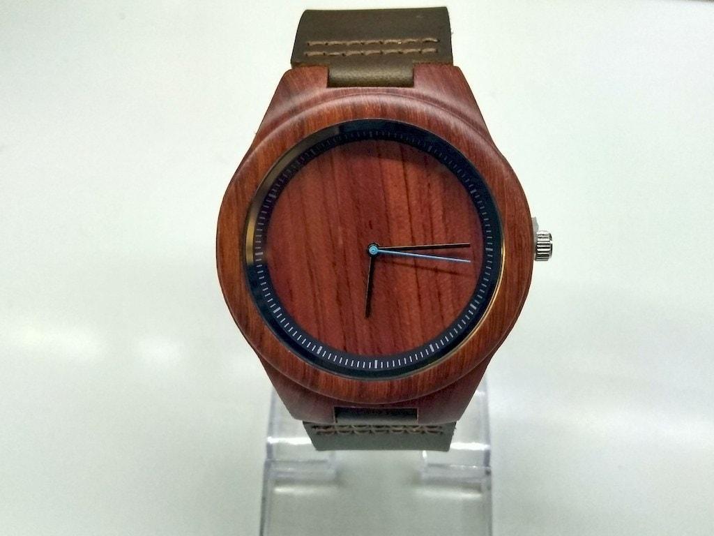 5d18d7e9124cdc Zegarek drewniany Mahoń • Bambusowy • sklep online Filcomp