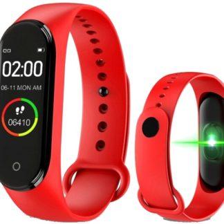 m4 smartband czerwony