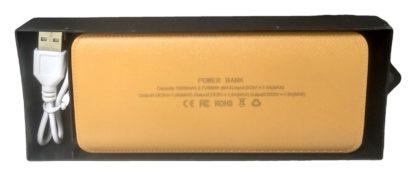 pudełko od powerbanka gold